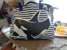 Sea World Whale Tote bag Large 22x15 New Handle/Strap