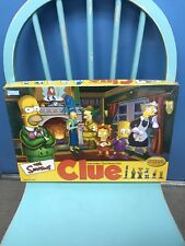 The Simpsons Clue Board Game 2nd Edition