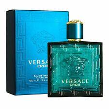 Versace Eros Eau De Toilette Spray for Men's Perfume 3.4 Oz / 100ML