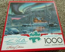 Buffalo Kim Norlien 1000 Piece Puzzle AURORA BLISS Holiday Collection NEW