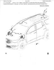GMC ACADIA Covert Disguised Multiband Antenna system 911-OEM ACADIA