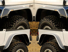 "87-95 Jeep Wrangler YJ Xenon 6"" Urethane Flat Panel Fender Flares 4pc Kit 9080"