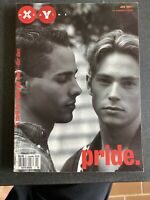 XY July 1997 Pride issue gay queer youth vintage magazine