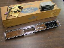 NOS OEM 1974 1975 1976 1977 1978 Ford Mustang II Dash Bezel + Clock