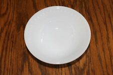 Vintage Federal Milk Glass Diamond Print Heat Proof 5 inch Chili or Soup Bowl