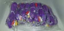 100 LOT Purple 10FT Gold Plated AV Cables for Super Nintendo N64 Gamecube