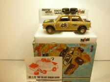POLISTIL S16 FIAT 128 RALLY - EAST AFRICAN SAFARI - 1:25 - EXCELLENT IN BOX