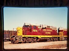 HJ02 ORIGINAL TRAIN SLIDE ENGINE GP10 OHCR 7573 BRIER HILL OH OHIO CENTRAL