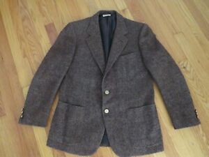 Vintage Brioni Roma Men's Sport coat, S, Brioni Buttons, Made in Italy
