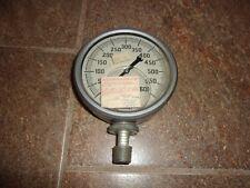 """Marsh """"Mastergauge"""" Oil Filled Pressure Gauge 600psi, 5"""", Stainless Steel New?"""