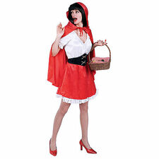Little Red Riding Hood Storybook Fairytale Halloween Adult Fancy Dress Costume