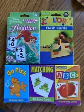 5 Packs Of Flash Cards For Pre-K