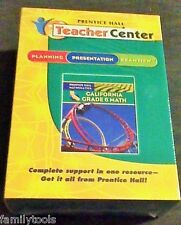 Prentice Hall 6th Grade 6 Math Teacher Presentation ExamView Answers CD ROM ANSW