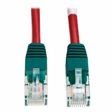 Tripp Lite Cat5e 350mhz Molded Cross-over Patch Cable [rj45 M/m] - Red, 10-ft. -
