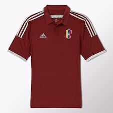 adidas Men's Venezuela Home Soccer Jersey 2014 2015 100% Authentic La Vinotinto
