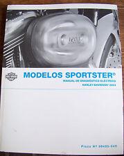 2004 Harley-Davidson MODELOS SPORTSTER Manual Diagnostico Electrico en Espanol