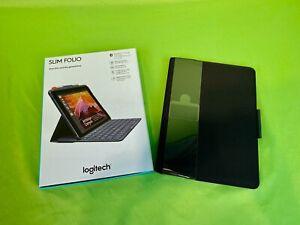 New Logitech Slim Folio 920008617 w/ Integrated Keyboard 5th/6th Generation iPad