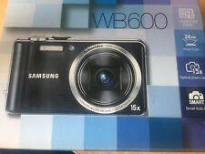 Samsung WB Series WB600 12.0MP Digital Camera - Black