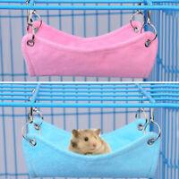 Hammock for Pet Hamster Rat Parrot Ferret Hamster Hanging Bed Cushion