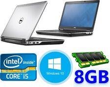 Dell Latitude E6440, INTEL CORE i5  8GB RAM Memory, 240GB SSD, Windows 10