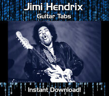 JIMI HENDRIX ROCK GUITAR TAB TABLATURE DOWNLOAD SONG BOOK SOFTWARE TUITION