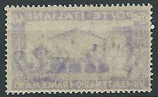 1926 REGNO SAN FRANCESCO 40 CENT VARIETà DECALCO MNH ** - T141
