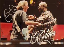 BB King / Eric Clapton Autographed Signed 8x10 Photo REPRINT