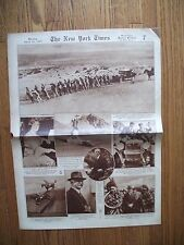 April 14 1929 NY Times Picture Section Stinnes Motor Trip Around the World