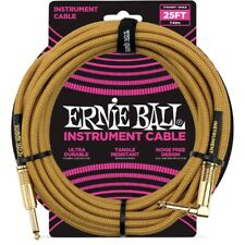 Ernie Ball 6070 Cavo Braided Gold/Gold 7,6 m