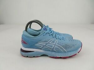 Asics GEL-Kayano 25 1012A026 Light Blue Running Athletic Shoes Womens Size 7.5