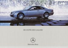 MERCEDES CL COUPE C215 500 600 55 AMG Classic Prospekt Brochure 2002 /87