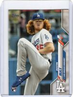 2020 TOPPS BASEBALL ROOKIE CARD # 235 - DUSTIN MAY - LOS ANGELES DODGERS