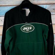 Reebok NFL NY Jets XL Gree/Black Long Sleeves Sweeter100% Polyester USA Seller