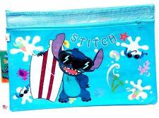 Disney Lilo Stitch 2 Zip Folder Organiser Document Project File Case Pocket Bag