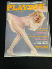 Vintage PLAYBOY MAGAZINE Playmate Review April 1984 Good-Very Good Condition