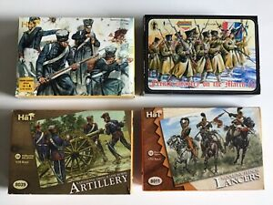 HaT & Strelets 1/72 scale plastic toy soldiers Napoleonic French 4 sets boxed