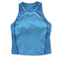 ZOOT Women's Performance Triathlon Sleeveless Tank Jersey Size XL Shelf Bra Run