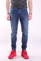 Pepe Jeans Jogger W9, Herren Jeans, Hose, Denim, BLAU, Trousers