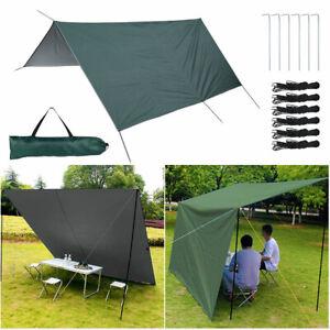 3M Outdoor Camping Tent Tarp Awning Shade Sun Rain Shelter Mat Canopy Waterproof