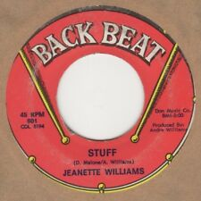 Jeanette Williams Stuff Back Beat Soul Northern Motown