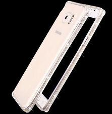 Silm Clear Crystal Diamond Bling Gel Soft TPU Case Cover For Samsung J3 J5 J7 S9