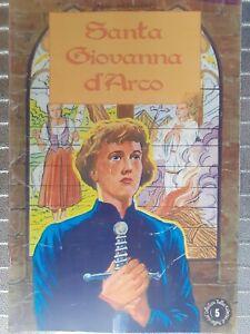 Fumetti Santa Giovanna d' Arco  Crociata Eucaristica Italiana Religione 🤩🤩