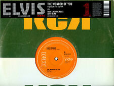 "Elvis Presley UK 10"" 16/18 The Wonder Of You 3 Tracks 06201 UNPLAYED EX/EX"