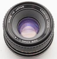 Yashica Lens DSB 50mm 50 mm 1:1.9 1.9 - Contax