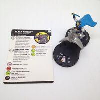 Heroclix Avengers Defenders War set Black Knight #066 Super Rare figure w/card!