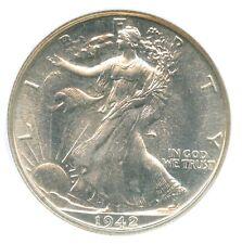 1942 Walking Liberty Half Dollar, NGC PF66, CAC Approved Gem!