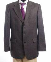 HUGO BOSS Sakko Jacket Angelico Gr.102 grau Fischgrät Einreiher 3-Knopf -S281