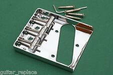 Lefty Bridge Telecaster 52 Puente Tele Zurdo 3 Selletas Acero Strings Thru Body