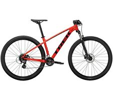 "Brand New 2021 Trek Marlin 6 M frame 29"" wheel Radioactive Red Trek Black"