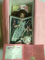 "Paradise Galleries ""Mary Had a Little Lamb"" MUSICAL PORCELAIN DOLL. 15"""